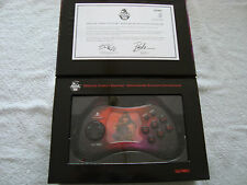 Official Street Fighter 15TH Anniversary PLAYSTATION 2 controlador, AKUMA Estilo