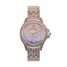 NEW! Juicy Couture Luxury Stella BLING Rose Gold Watch + GIFT BOX NWT