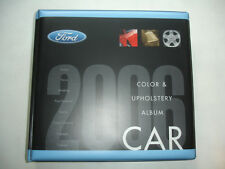2006 Ford CAR COLOR UPHOLSTERY Album Manual Product Source Book Mustang GT Focus