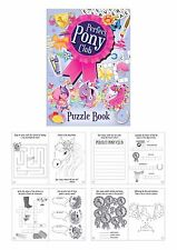 24 perfect pony club puzzle books,party bag fillers,children's wedding favor.