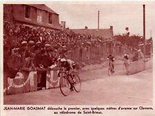 1938  --  PASSAGE DU TOUR VELODROME DE SAINT BRIEUC    3K805