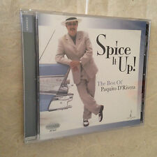 CD SPICE IT UP THE BEST PAQUITO D'RIVERA CHESKY JD342 2008 JAZZ
