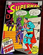 SUPERMAN 191 F+/VF- 1939 1st DC SERIES RARE 1966 ISSUE