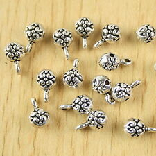 35pcs Tibetan silver ball spacer beads h2797