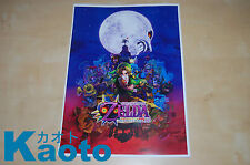 POSTER THE LEGEND OF ZELDA MAJORAS'S MASK 3D DIN-A 3 PARA ENMARCAR NINTENDO