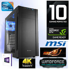 Gamer PC Intel I7 6700K 4x4,20Ghz-16GB-Nvidia GTX1060 G1 Gaming-Win10-M.2 SSD