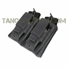 CONDOR MA51 MOLLE 5.56 mm open top + Pistol Double Kangaroo Mag Pouch BLACK