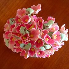 Vtg Millinery Flowers Forget Me Not Pink for Doll Hat Madame Alexander Ginny P2