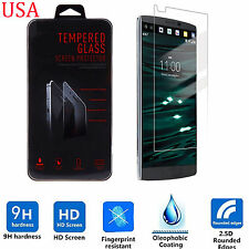 9H ULTRA CLEAR TEMPER GLASS SCREEN PROTECTOR FOR LG V10 H901 USA