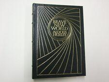 Brave New World Huxley, Aldous 1978 Easton Press Mara McAfee