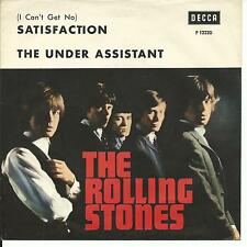 7'Rolling Stones  Satisfaction/The Under Assistant   EXPORT  for Skandinavia?