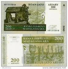 Madagascar - 200 Ariary  - UNC Currency Note