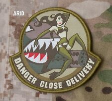 DANGER CLOSE DELIVERY ARID COMBAT TACTICAL BADGE MORALE MILITARY PATCH