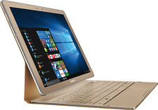 """Open-Box: Samsung - Galaxy TabPro S 2-in-1 12"""" Touch-Screen Laptop - Intel Co..."""