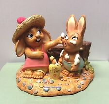 PenDelfin Rabbit  Collectors Figurine - Sunny Bunnies Factor 8 # 403