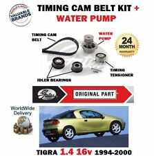 FOR OPEL TIGRA 1.4 16v 90bhp X14XE 1994-2000 TIMING CAM BELT KIT + WATER PUMP