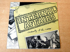 """EX/EX !! Internal Affairs/Casualty Of The Core/2003 Malfuntion 7"""" Single EP/Punk"""