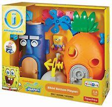 Imaginext Nickelodeon SpongeBob SquarePants Bikini Bottom By Fisher Price NIB