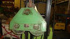 USED ROBBINS MYERS 5 TON  CHAIN OPERATED  GEAR TROLLEY
