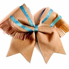 Pocahontas Native American Indian Southwest Cheer Hair Bow