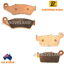 FRONT REAR Sintered Brake Pads for SUZUKI RMX 250 SJ14A 1996-1997 1998 1999