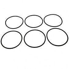 6 x Lezyne Stirrup / Floor Pump Piston O Ring Seals - Ref: 128.5