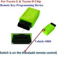 Vehicle Car Key Programmer For TOYOTA G & H Chip - Remote Key Maker via OBD2