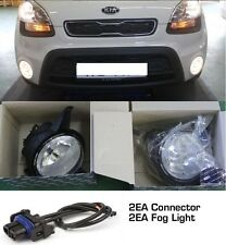 Fog Light Lamp, Connector 4EA 1SET Genuine Parts For KIA Soul 2009 2011