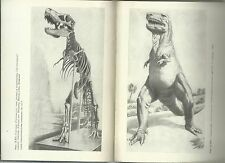 Soviet Russian USSR book world of prehistoric animals Dinosaurs pictures photos