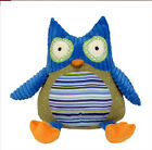 Harry the Blue Owl Textured Soft Baby Toy 22cm