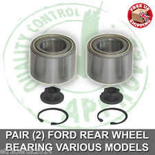 2 X Rear Wheel Bearing Kit Ford Focus 98-04 Mk1 Focus Mk1 Rear Wheel Bearings