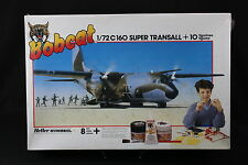 YR001 HELLER 1/72 maquette avion 3003 Transall C-160 Super 10 fig BOBCAT 1983