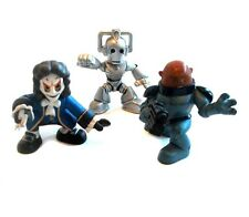 DR WHO PLAYSKOOL TIME SQUAD toy figures, Rare Villains lot