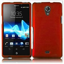 For Sony Ericsson Xperia TL LT30at Rubberized - Orange