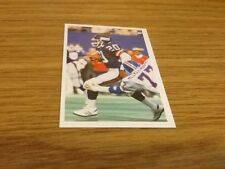 Joe Morris New York Giants American Football A Question of Sport game card 1987