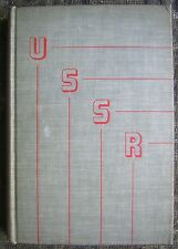 USSR - The Story of Soviet Russia - 1944 Hardcover Book by Walter Duranty