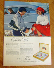 1953 Body by Fisher Ad Chevrolet Pontiac Oldsmobile Buick Cadillac Ice Skating