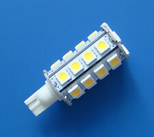 10x T10 921 194 SMD bulb AC/DC12~24V Interior light 30-5050 SMD LED, Warm White