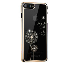 Luxury 3D Bling Diamond Crystal Hard PC Back Case Cover Shell For Iphone Samsung