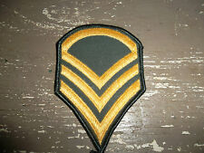 Ecusson/ patch sergent US   Badge / patch US sergeant