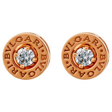 Bvlgari Bulgari Bulgari pink gold earrings with 2x0 20 ct diam 347981