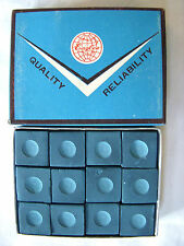 ⭐️ NEW Vintage EAGLES Pool Cue BLUE CHALK Billiards Tip Old⭐️