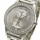 Fashion Women Stainless Steel Crystal Dial Quartz Analog Luxury Wrist Watch