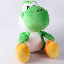 1pcs Super Mario Bros Green Yoshi Plush Baby Toy Soft Stuffed Doll Play Game