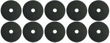 "Stick-on 10 X 35mm Self-Adhesive Rubber Washer 1/4"" ideal for Tripod / Camera Fl"
