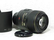 Nikon AF-S Micro-Nikkor 105 / 2,8 G ED VRMakro-Objektiv mit Bildstabilisator