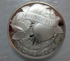 1996 CANADA JOHN MCINTOSH PROOF SILVER DOLLAR COIN