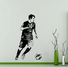 Lionel Messi Wall Decal Barcelona Football Sports Vinyl Sticker Decor Mural 49ft