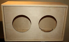 rawcabs 2x8 close back unloaded pine project speaker cabinet rear load