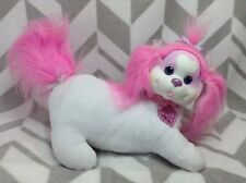 Puppy Surprise Pink & White Glitter Sparkle POPCORN Mom Mommy Only Plush Collar